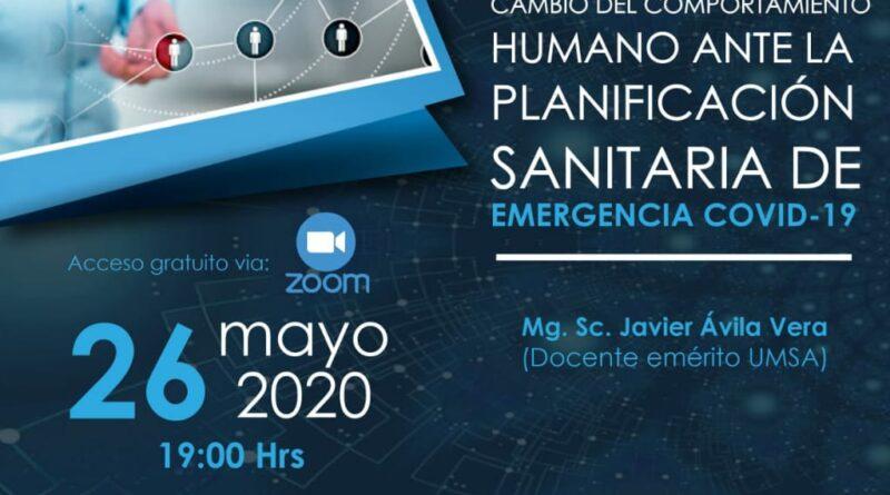 Cambio del Comportamiento Humano Ante la Planificación Sanitaria EMERGENCIA COVID 2019