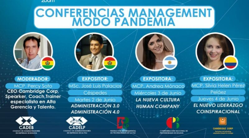 CONFERENCIAS MANAGEMENT MODO PANDEMIA