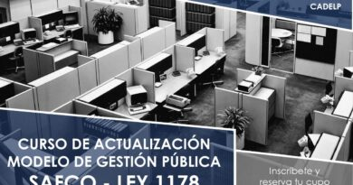 CURSO DE ACTUALIZACIÓN MODELO DE GESTIÓN PÚBLICA SAFCO – LEY 1178